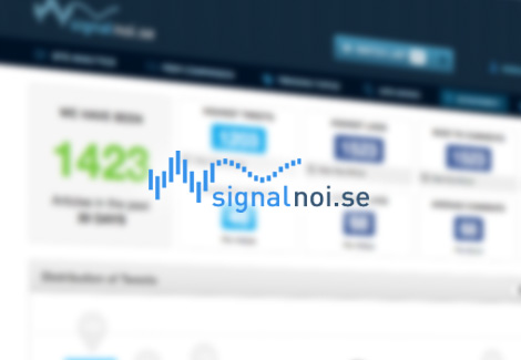 Signal Noise - Web and Application User Interface Design and Development